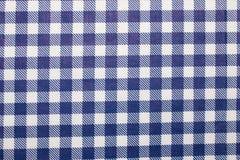 Gingham fabric background. Close up of gingham fabric Stock Image