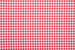 Gingham fabric background. Close up of gingham fabric background Royalty Free Stock Images