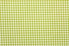 Gingham fabric background. Close up of gingham fabric background Stock Image