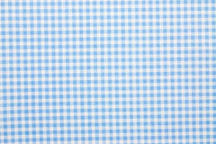 Gingham fabric background. Close up of gingham fabric background Royalty Free Stock Image