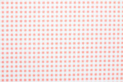 Gingham fabric background. Close up of gingham fabric background Stock Photography