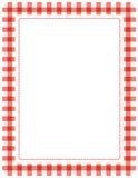 Gingham Frame Royalty Free Stock Photography