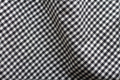 Gingham-Gewebe Stockfotos