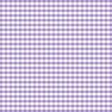 gingham lavender seamless Στοκ φωτογραφίες με δικαίωμα ελεύθερης χρήσης