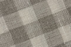 Gingham Linen Canvas backround - Stock Photos Stock Photography