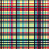 Gingham pattern. Vector seamless checked plaid pattern Royalty Free Stock Photography