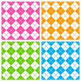 Gingham pattern. Cute seamless gingham patterns collection specially for spring summer themed seasonal designs Stock Images