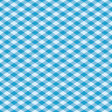 Gingham Pattern in Blue. Seamless pattern of a classic gingham plaid in blue Royalty Free Stock Image