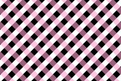 Gingham pattern peach and black color. Gingham pattern. Texture from rhombus/squares for - plaid, tablecloths, clothes, shirts, dresses, paper, bedding, blankets vector illustration