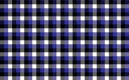 Gingham pattern. Texture from rhombus/squares for - plaid, tablecloths, clothes, shirts, dresses, paper, bedding, blankets, quilts. And other textile products royalty free illustration