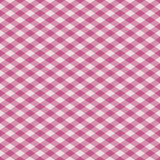 Gingham Plaid in Pink Stock Photos