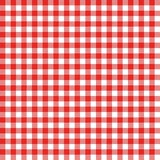 Gingham seamless pattern. Red Italian tablecloth. Picnic tale cloth vector. Gingham seamless pattern. Red Italian tablecloth. Picnic tale cloth vector vector illustration
