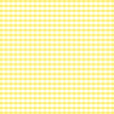gingham seamless yellow 库存照片