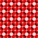 Gingham squares seamless background Stock Photos