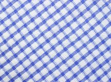 Gingham surface texture. For background Royalty Free Stock Image
