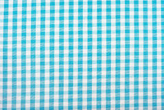 Gingham tablecloth pattern Stock Photo