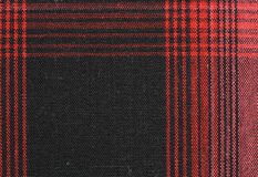 Gingham tablecloth tekstury tło Zdjęcia Royalty Free