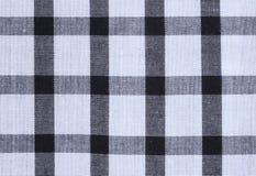 Gingham tablecloth tekstury tło Zdjęcia Stock