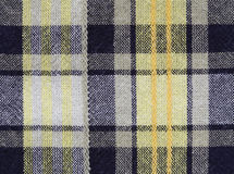 Gingham tablecloth texture background. Close up of gingham tablecloth fabric texture background Stock Photo