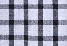 Gingham tablecloth texture background Stock Photos