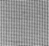 Gingham Texture. A black and white coarse gingham fabric texture royalty free stock photo