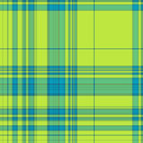 Gingham texture in blue and green. Seamless gingham texture in blue and green spectrum Royalty Free Stock Photos
