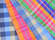 Gingham in Thai style. On a background Royalty Free Stock Images