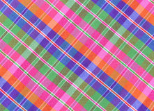 Gingham in Thai style. On a background Stock Image