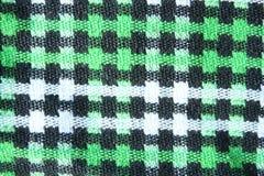 Gingham-Tischdecken-Muster Stockbild