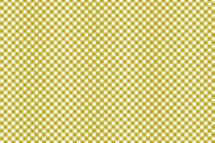 Gingham yellow pattern. Texture from rhombus/squares for - plaid, tablecloths, clothes, shirts, dresses, paper and other textile. Products stock illustration