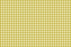 Gingham yellow pattern. Texture from rhombus/squares for - plaid, tablecloths, clothes, shirts, dresses, paper and other textile. Products vector illustration