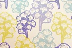 Gingko abstrato Imagens de Stock Royalty Free