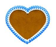 Gingrbread azul y blanco foto de archivo libre de regalías