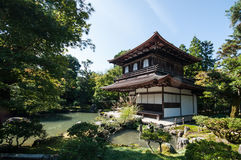 Ginkaku -ginkaku-ji, Kyoto stock foto's