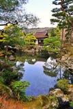 Ginkaku -ginkaku-ji (Tempel van Zilveren Paviljoen) in Japan Stock Afbeeldingen