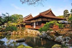 Ginkaku -ginkaku-ji (Tempel van Zilveren Paviljoen) in Japan Stock Fotografie