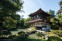 Ginkaku-ji, Kyoto Stockfotos