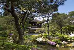 Ginkaku-ji, Silver Pavilion Temple in Kyoto Royalty Free Stock Photography