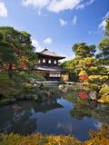 Ginkaku-ji tempel i Kyoto Arkivbilder