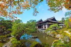 Ginkaku-ji Temple in Kyoto Royalty Free Stock Photo