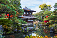 Ginkaku-ji Temple in Kyoto Royalty Free Stock Photos