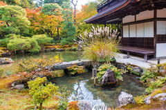 Ginkaku-ji, a temple in Kyoto, Japan. Stock Photography