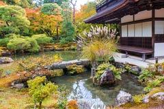 Ginkaku-ji, a temple in Kyoto, Japan. Stock Photography