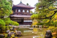 Ginkaku-ji, a temple in Kyoto, Japan. Royalty Free Stock Image