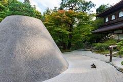 Ginkaku-ji Temple in Kyoto Royalty Free Stock Images