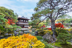 Ginkaku-ji Temple in Kyoto Stock Photography
