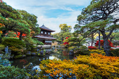 Ginkaku-ji Temple in Kyoto Royalty Free Stock Photography
