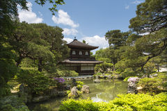 Ginkaku-ji Temple (Silver Paviliion) in Kyoto, Japan Royalty Free Stock Photography