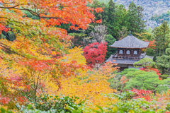 Ginkaku-ji Temple of the Silver Pavilion. Stock Images