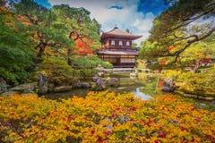 Ginkaku-ji, the Temple of the Silver Pavilion Stock Image